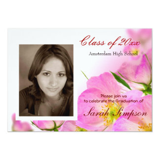 "Photo Graduation Invitation Cards 5"" X 7"" Invitation Card"