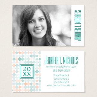 Photo Graduation | Mixed Small Spots Business Card