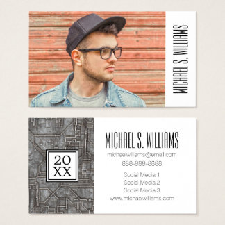 Photo Graduation   Space Hull Business Card