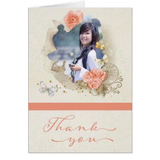 Photo Graduation Thank You Card