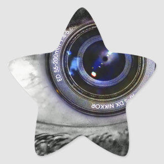 Photo Implant Star Sticker