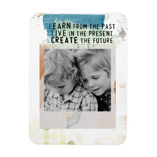 photo instagram framed inspirational quote magnet
