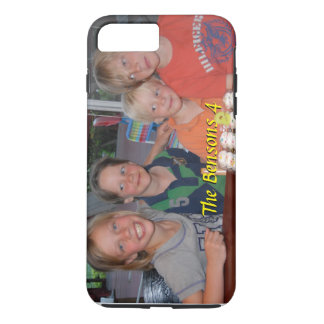 Photo iPhone 7 Plus case with name