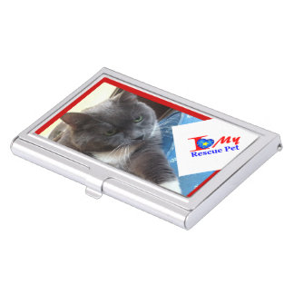 """""""Photo It Forward"""" Business Card Case"""