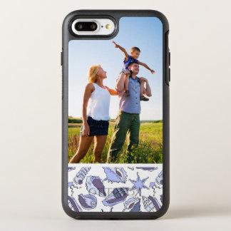 Photo Lavendar Seashells OtterBox Symmetry iPhone 7 Plus Case