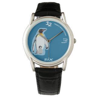 photo Lulu penguin clock Watch