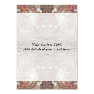 Photo-manipulation Sea Shell. 13 Cm X 18 Cm Invitation Card
