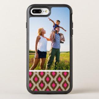 Photo Modern ikat pattern OtterBox Symmetry iPhone 8 Plus/7 Plus Case