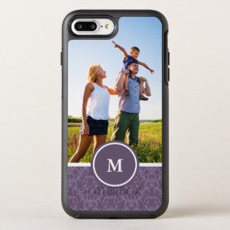 Photo & Monogram Luxury Purple Wallpaper OtterBox Symmetry iPhone 8 Plus/7 Plus Case