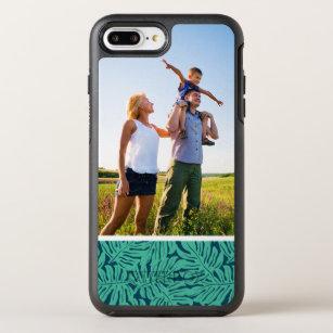Photo Monstera Tropical Leaf Pattern OtterBox Symmetry iPhone 8 Plus/7 Plus Case