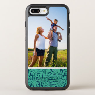 Photo Monstera Tropical Leaf Pattern OtterBox Symmetry iPhone 8 Plus/7 Plus Case