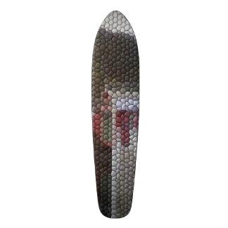 Photo mosaic skate board deck