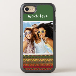 Photo & Name Ethnic background OtterBox Symmetry iPhone 8/7 Case