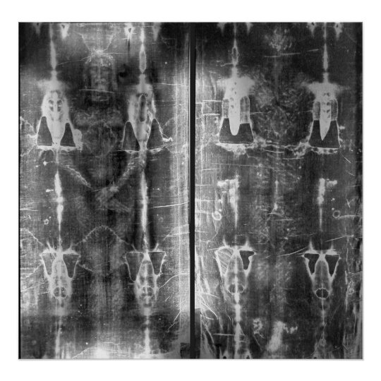 Photo Negative Picture of the Shroud of Turin