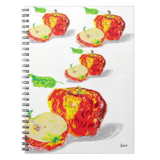 Photo Notebook (80 Pages B&W) Apples