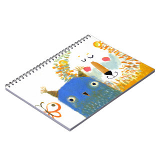 Photo Notebook BIRD AND LION PAINT