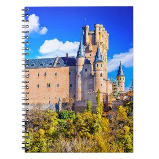 Photo Notebook Segovia castle