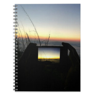 Photo Notebook Take photo