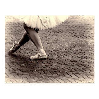 Photo of Ballet Slippers Postcard