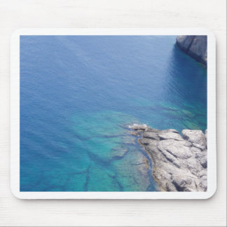 photo of beach mouse pad