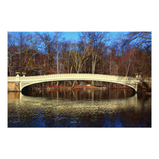 Photo of Bow Bridge in Central Park New York