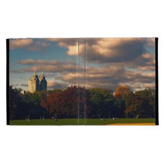 Photo of Central Park in New York City iPad Folio Case