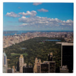 Photo of Central Park in New York City Ceramic Tile