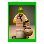 Photo of Doctor Toxic Custom Minifigure Greeting Cards