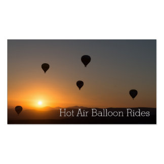 Photo of Hot Air Balloon Rides Business Card