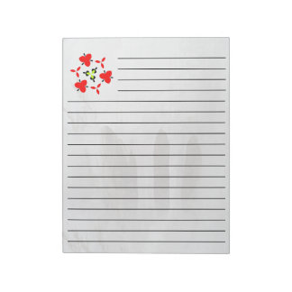Photo of ice notepad