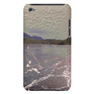 Photo of lake with Texture iPod Touch Case-Mate Case