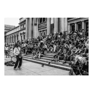 Photo of New York City Street Musician Performer