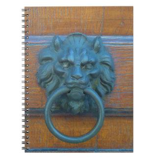 Photo of rustic door decoration in Italy Europe Notebook