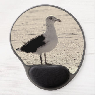 Photo of Seagull on Coney Island Beach Gel Mouse Pad