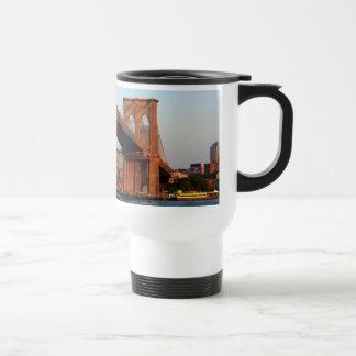 Photo of the Brooklyn Bridge in NYC Coffee Mug