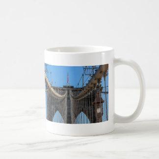Photo of the Brooklyn Bridge in NYC Coffee Mugs