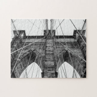 Photo of the Brooklyn Bridge in NYC Jigsaw Puzzle