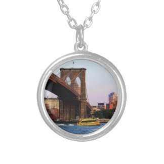 Photo of the Brooklyn Bridge in NYC Necklaces