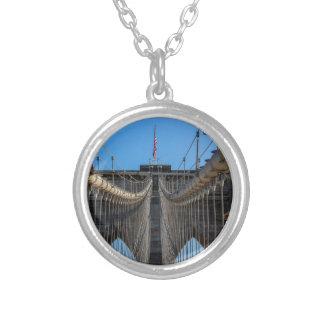 Photo of the Brooklyn Bridge in NYC Pendant