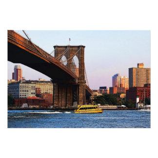Photo of the Brooklyn Bridge in NYC