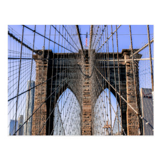 Photo of the Brooklyn Bridge in NYC Post Cards