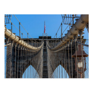 Photo of the Brooklyn Bridge in NYC Post Card