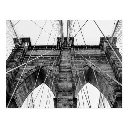 Photo of the Brooklyn Bridge in NYC Postcards