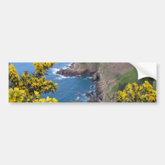 Photo Of The Coast In Jersey Bumper Sticker