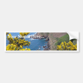 Photo Of The Coast In Jersey Bumper Stickers
