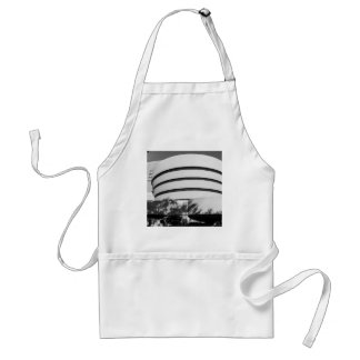 Photo of the Guggenheim Museum in New York City Aprons