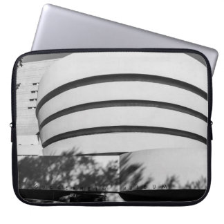 Photo of the Guggenheim Museum in New York City Laptop Computer Sleeves