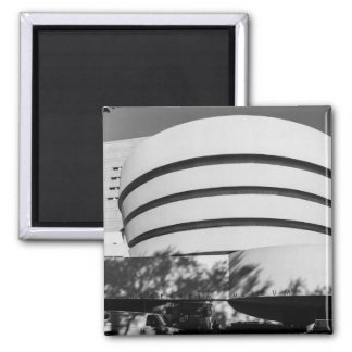 Photo of the Guggenheim Museum in New York City Refrigerator Magnet