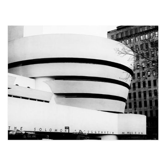 Photo of the Guggenheim Museum in New York City Postcard
