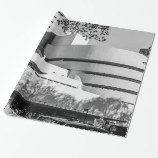 Photo of the Guggenheim Museum in New York City Wrapping Paper
